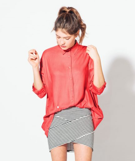 Meow-Coral-red-shirt1