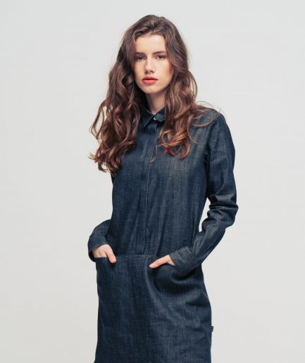 Meow-jeans-shirtdress-1